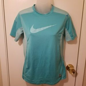 Nike Pro Combat Short Sleeve Fitted  Athletic Top